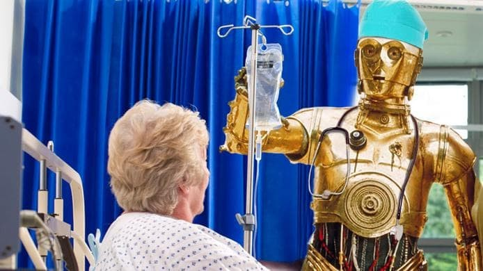 The robot doctors are making a lot of money  - Spaceship